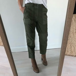 GAP Green Cargo Pants Size 2